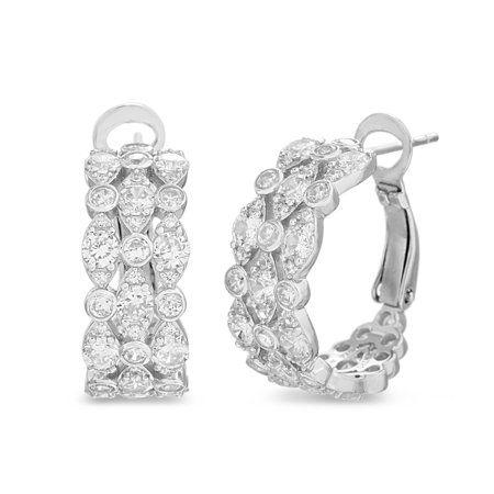 Jewelry Bridal Earrings Sterling Silver Jewelry Silver