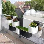 10 Modern Planters for Narrow Balconies #narrowbalcony 10 Modern Planters for Narrow Balconies #narrowbalcony