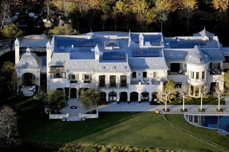 A Nova Casa De Gisele Bundchen E Tom Brady Em Brentwood Los