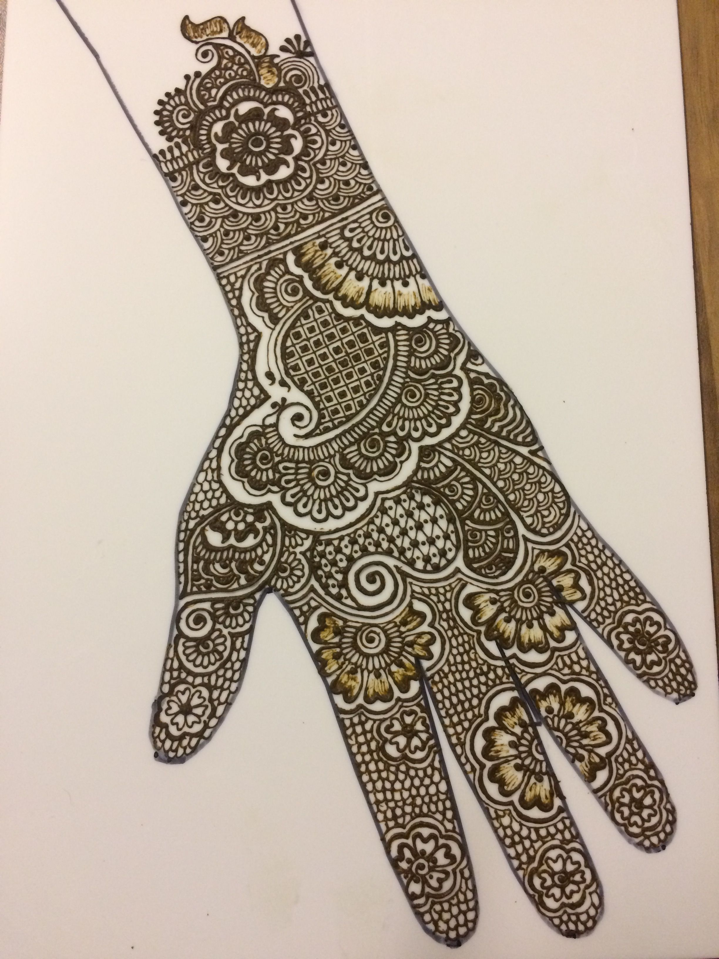Mehndi Patterns Easy On Paper : Pin by ramnet on mehndi designs hennas and