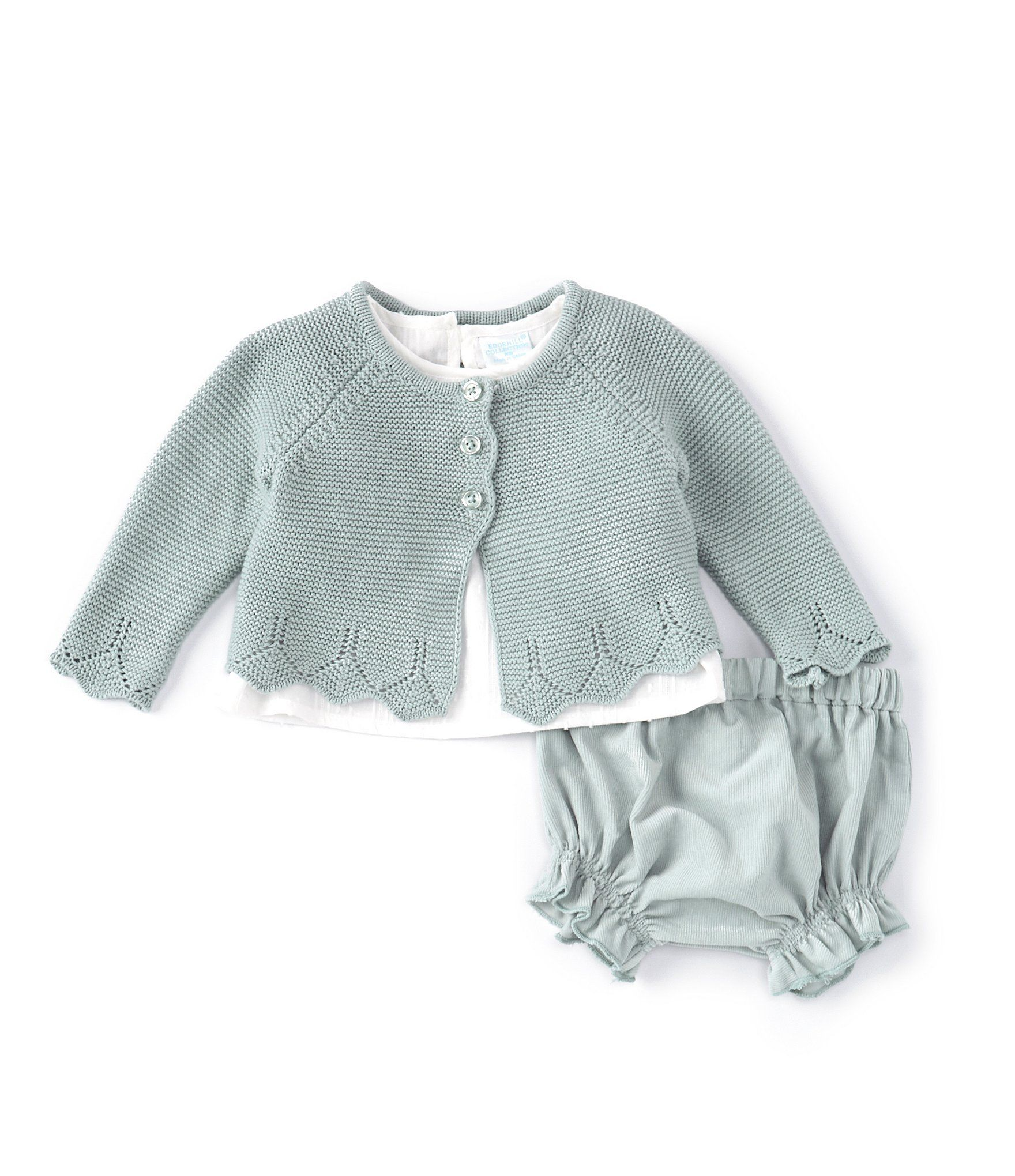 Photo of Edgehill Collection Baby Girls Newborn-6 Months Sweater Cardigan & Top Set | Dillard's