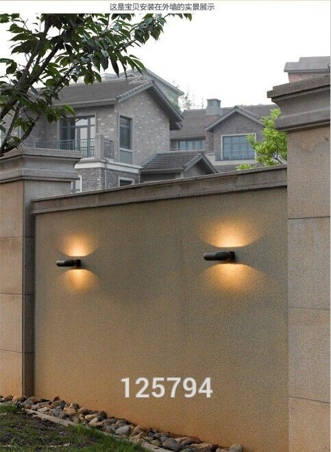 European Modern Minimalist Creative Waterproof Outdoor Led Wall