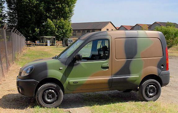 4x4 army kangoo | kengoo | 4x4, vehicles, cars