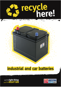Signage And Posters Business Recycling Car Batteries Car Battery Car