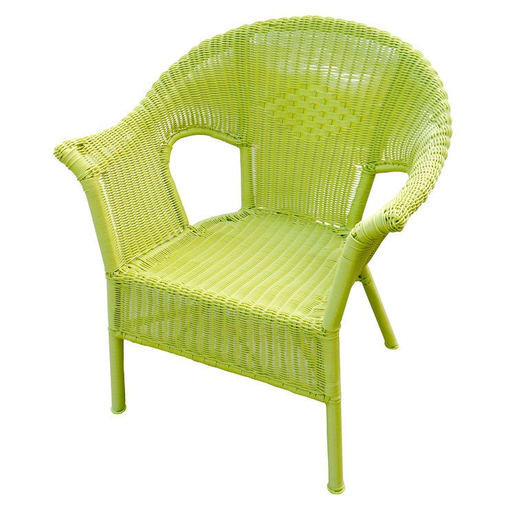 Wicker Chair Lime Green Wicker Chair Furniture Chair