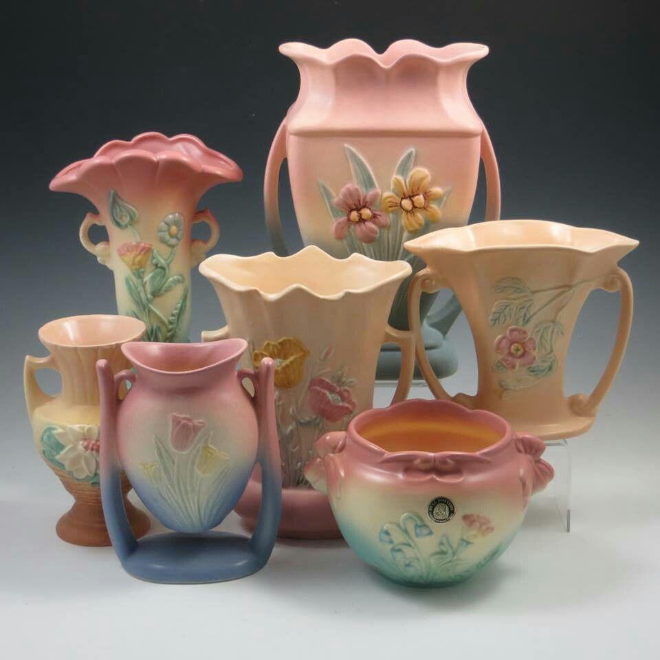 Hull Art Pottery Belhorn Auctions Pottery In 2019 Ceramic Pottery Weller Pottery