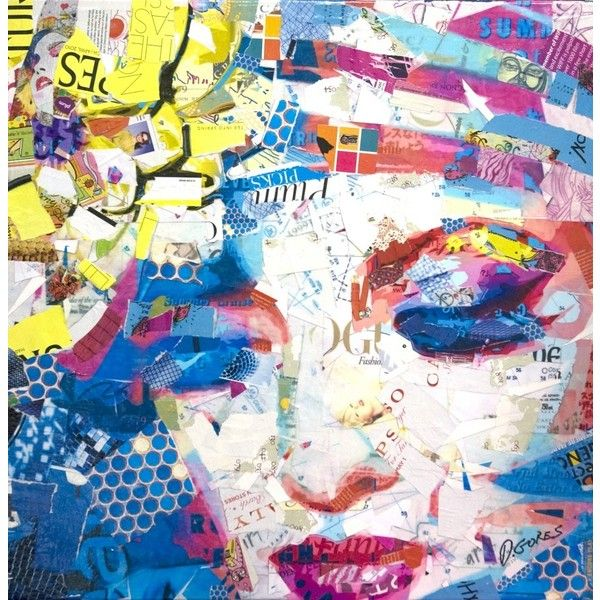 Collage Artwork: Collage Art by Derek Gores ❤ liked on Polyvore featuring backgrounds