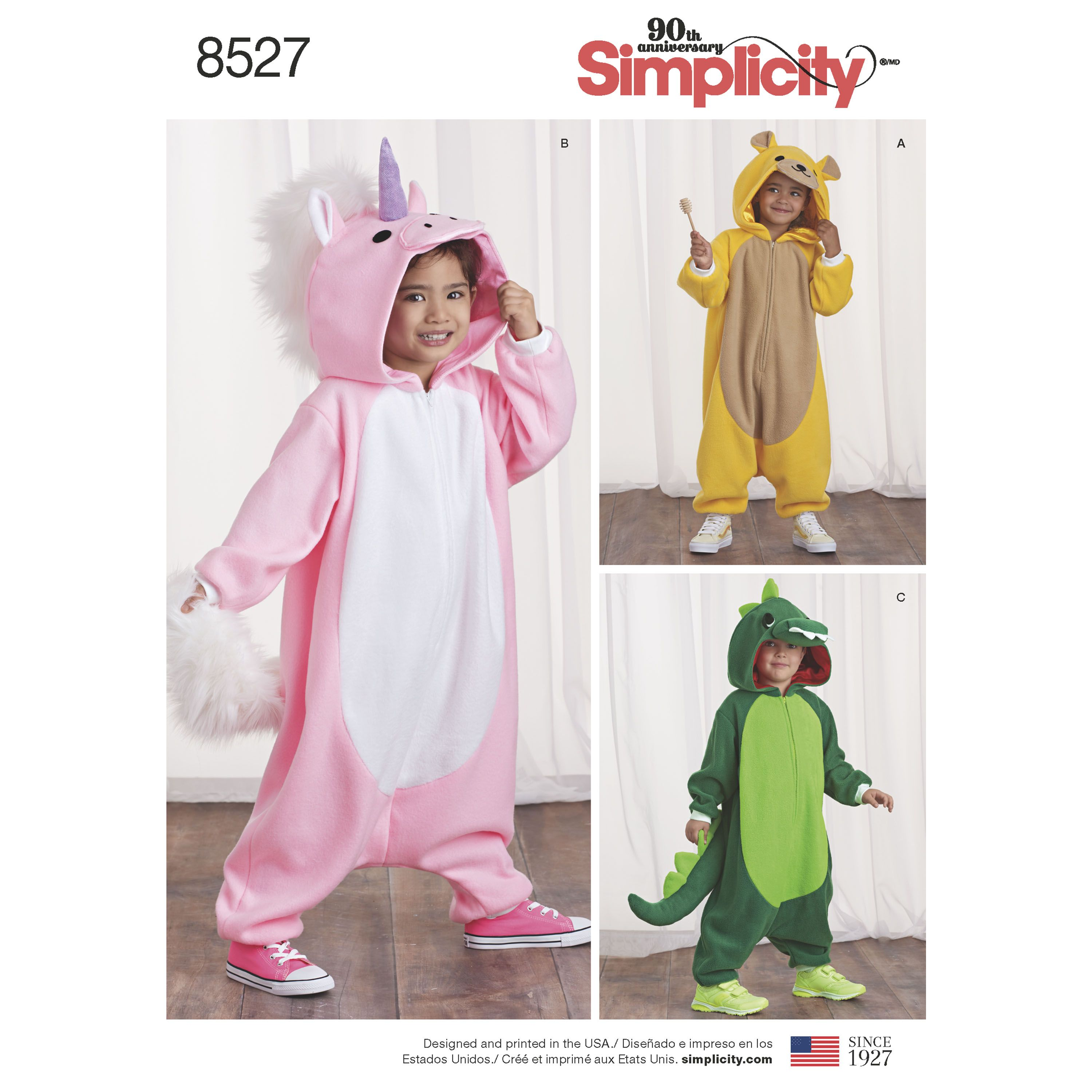 Kids Will Love Their Cozy Animal Jumpsuit Costumes