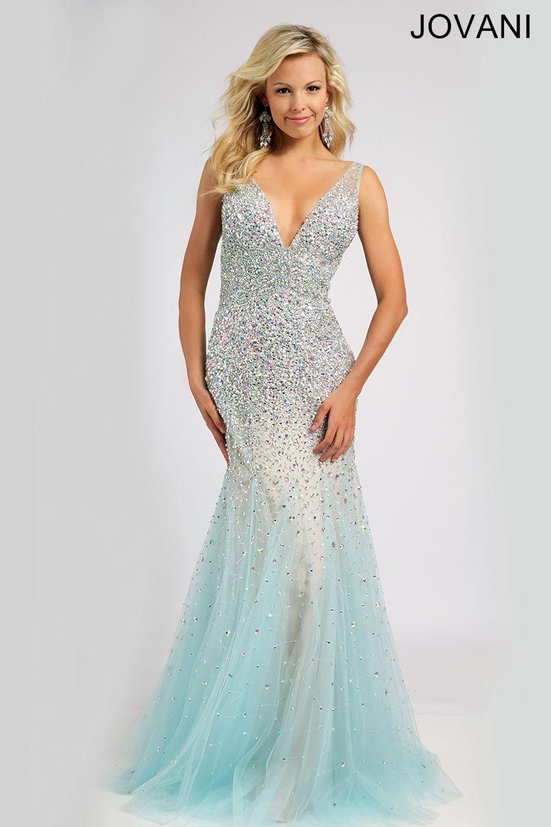 Blue Mermaid Gown 81084 - Prom Dresses | blue wedding | Pinterest ...