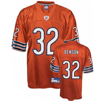 hot sale online 3f3f0 4eb79 Cedric Benson Orange Jersey $19.99 | Full selection of NFL ...