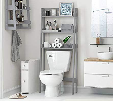007e5b86d1b Amazon.com  UTEX 3-Shelf Bathroom Organizer Over The Toilet ...