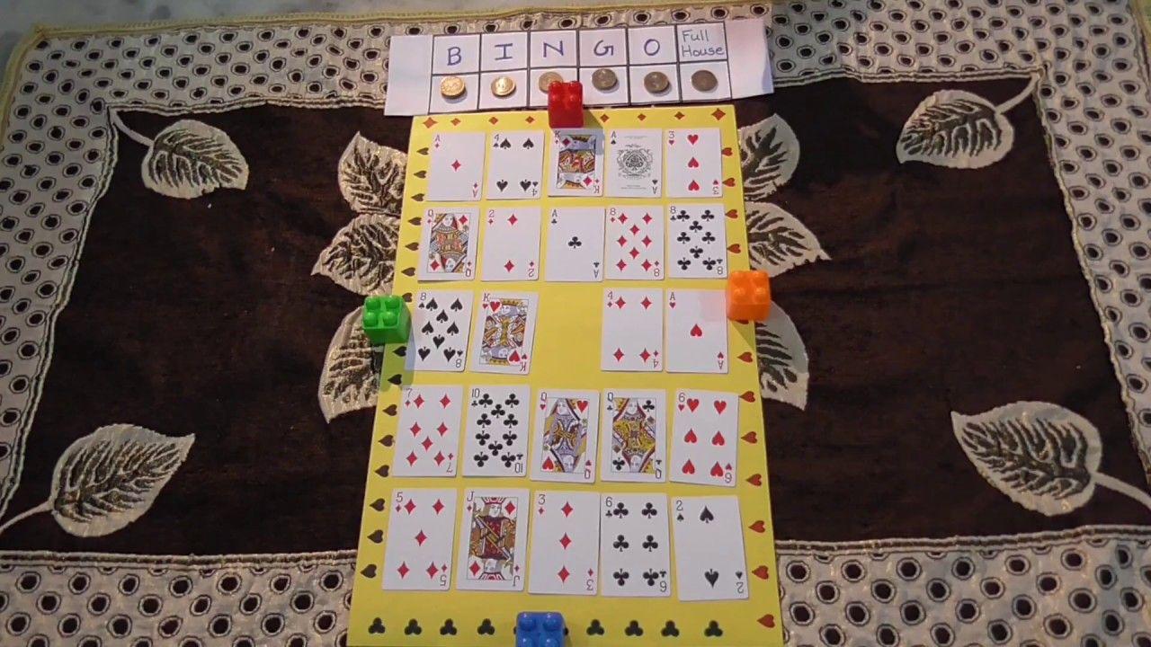 Bingo Cards Game Tambola Pattern Kitty Party Fun Game