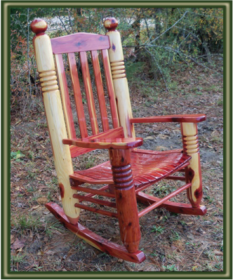 Cedar Rocking Chairs Costco Leather Dining Big Ben Chair Porch Swings Patio Outdoor