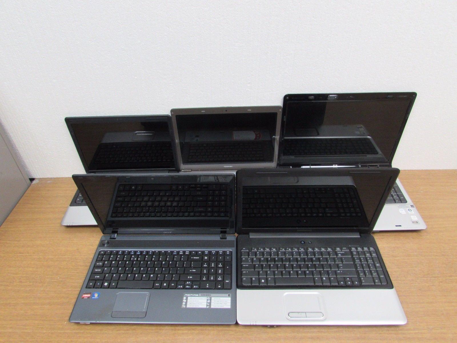 Lot of 5 Hp Compaq Presario CQ40 Pavilion Presario CQ60 Toshiba Acer Aspire5250