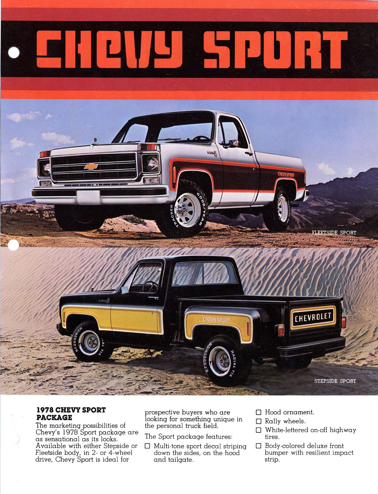 2 Tone Chevy Truck : chevy, truck, Chevy, Sport, Looking, Pictures, 73-80, Stepsides, Factory, Pinstripes, Two-tone, Pa…, Chevrolet, Trucks,, Stepside