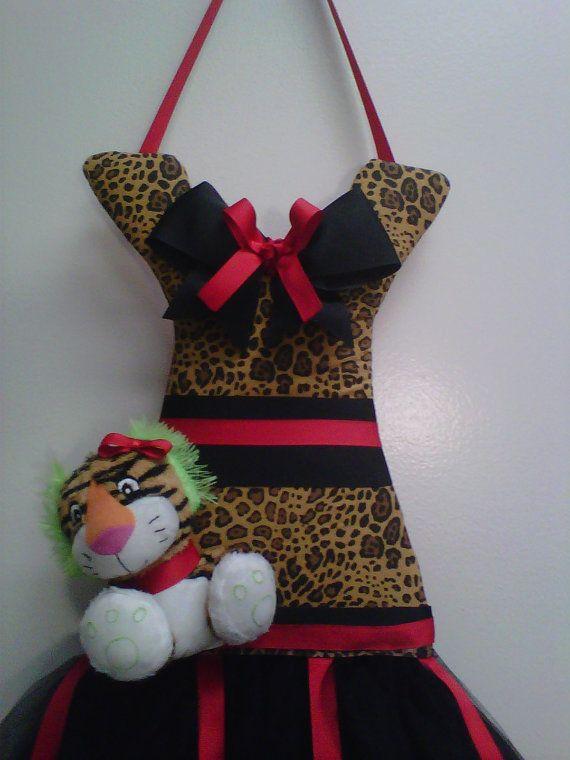 Handmade Tutu Dress Hair Bow Holder and Pet by Tu2Rific on Etsy, $25.00