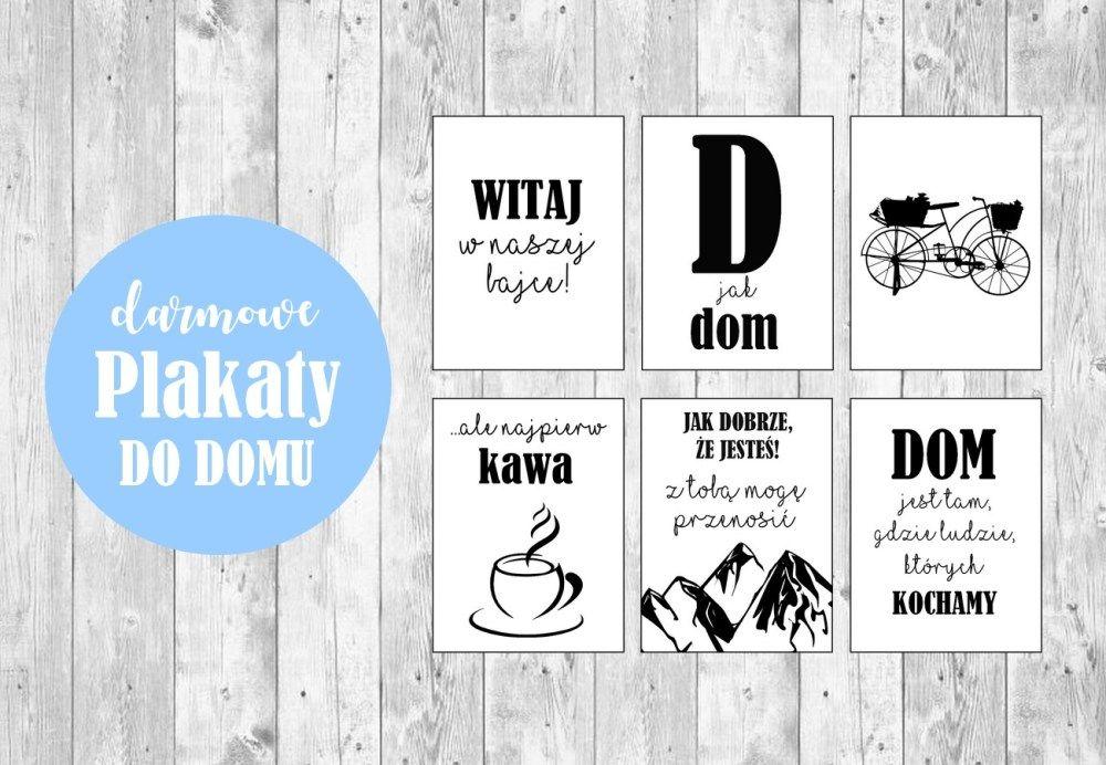 Plakaty Do Druku Z Polskimi Napisami Dom Sewama Ogrod