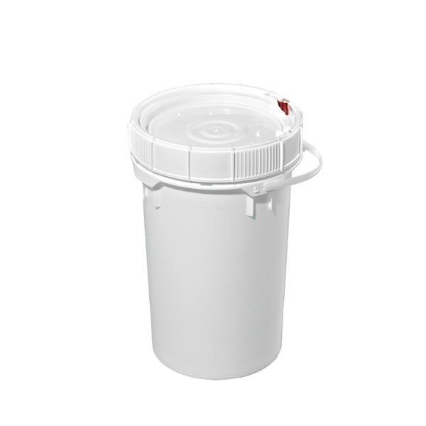 Illing Part 3096ngp 6 5 Gallon White Plastic Screw Top Pail W Plastic Handle Plastic Screw Top Open Head Pails Are Avai Plastic Pail Metal Containers Pail