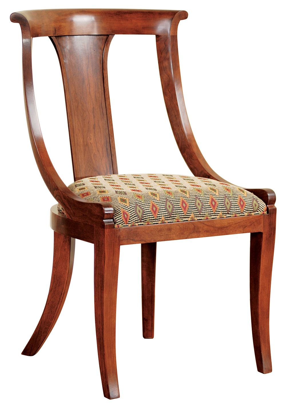 Astonishing Directoire Arm Chair Classics Cherry Collection Pabps2019 Chair Design Images Pabps2019Com