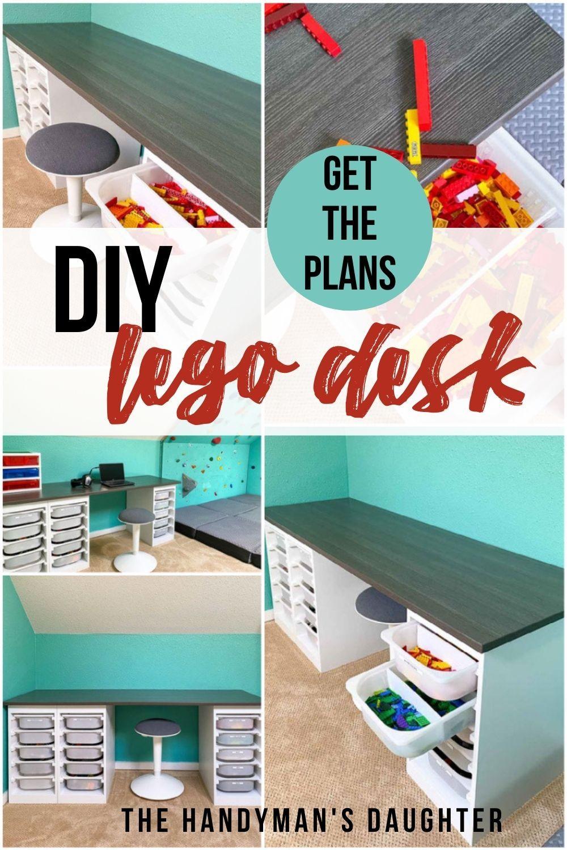 Photo of DIY Lego Desk