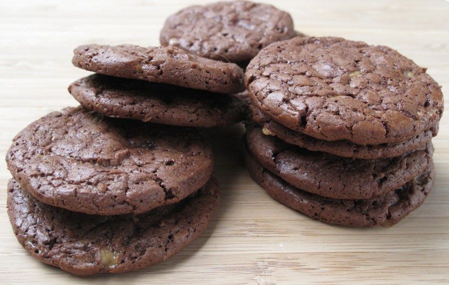Chocolate Toffee Cookies   The Monday Box