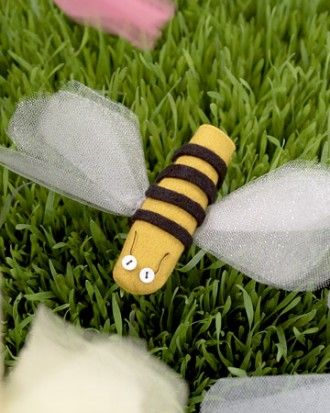 "See the ""Insect Finger Puppets"" in our  gallery"
