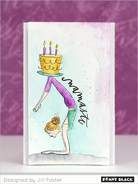 Featuring Fashion Day 1 Cards Watercolor Pinterest Diy Yoga