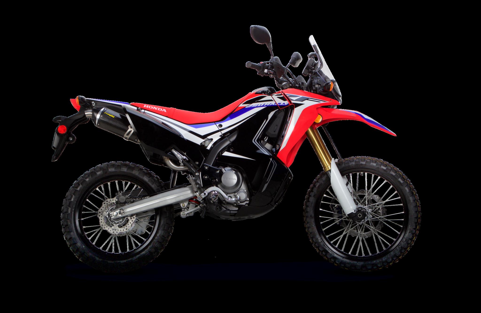 Honda Crf250l Rally S1r Slip On System 2017 2019 Pit Bike