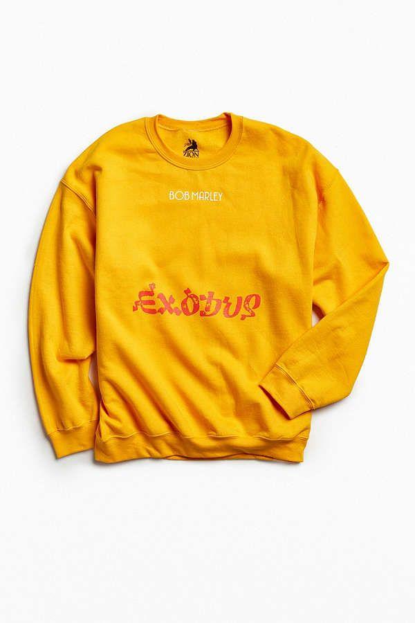a52826e65 Bob Marley Exodus 40 Crew Neck Sweatshirt | Cloth | Bob marley ...