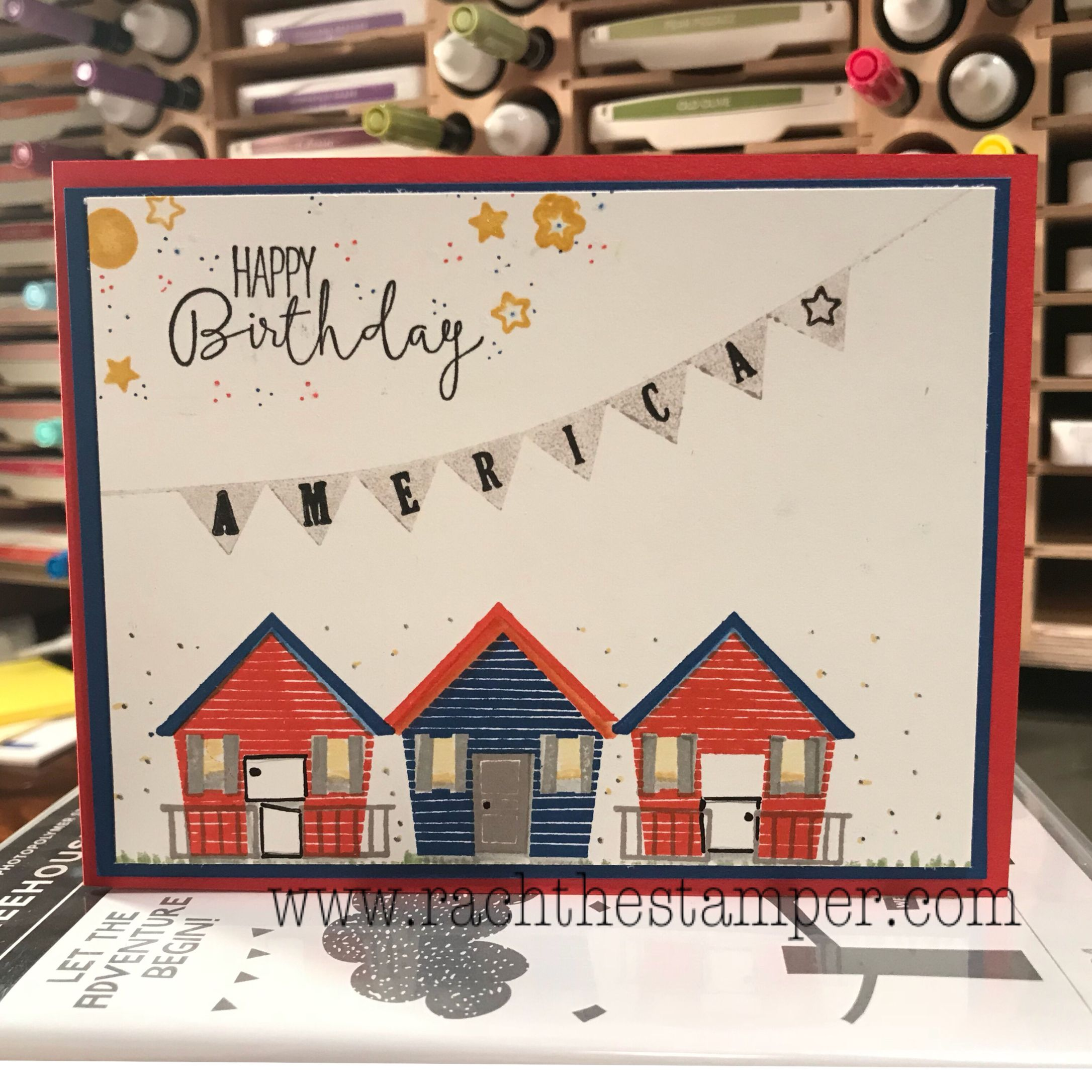Patriotic Blog Hop Stampin Up Card Craft Stampin Up Blog Hop