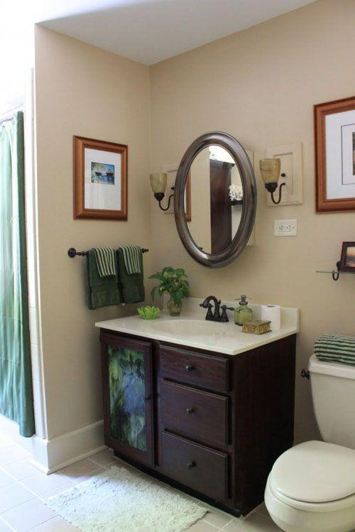 Small bathroom decorating ideas on a budget | Bathroom decor ...
