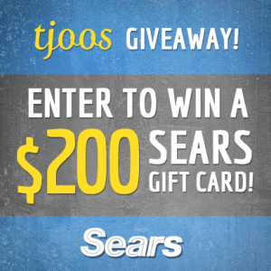 Win a $200 SEARS Gift Card from Tjoos!