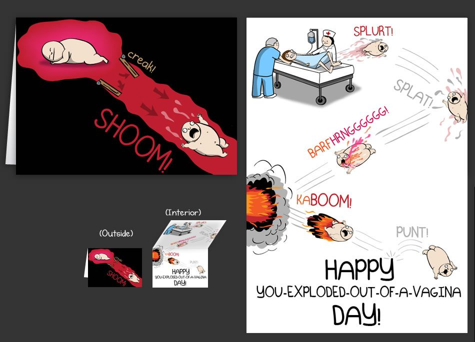 Horrible Cards Greeting Cards By The Oatmeal Book Review Blogs Birthday Cards Cards