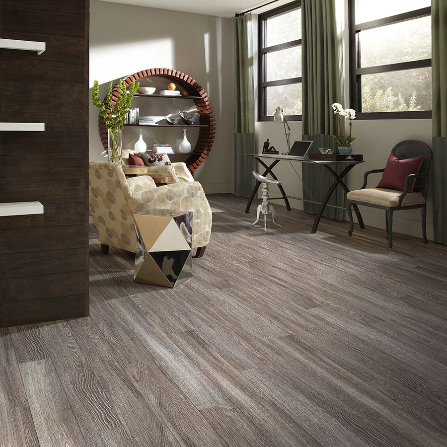 Shop Shaw Matrix 14 Piece 5 9 In X 48 In Platinum Oak