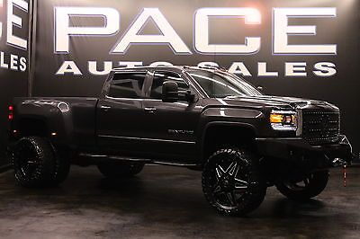 2015 Gmc Denali 3500 Dually 8 Lift 24 Fuel Wheels 37 Toyo
