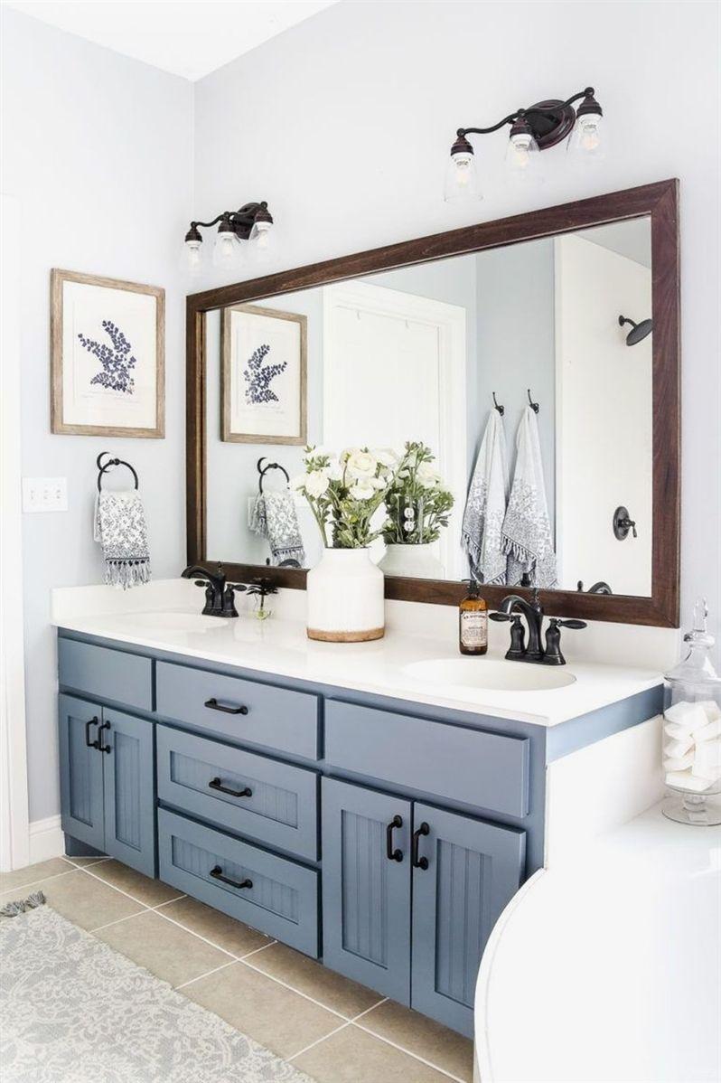 awesome modern farmhouse bathroom vanity ideas modernbathrooms