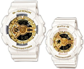 Mens Las G Shock Baby 30th Anniversary Special Limited Pair Set