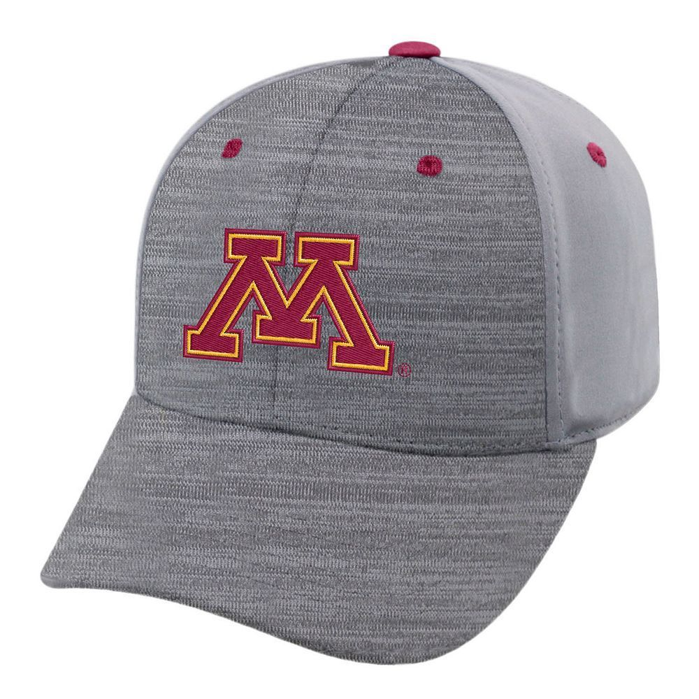 best authentic ddb37 80fe9 ... cheap adult minnesota golden gophers steam performance adjustable cap  med grey a0d2a b66d7