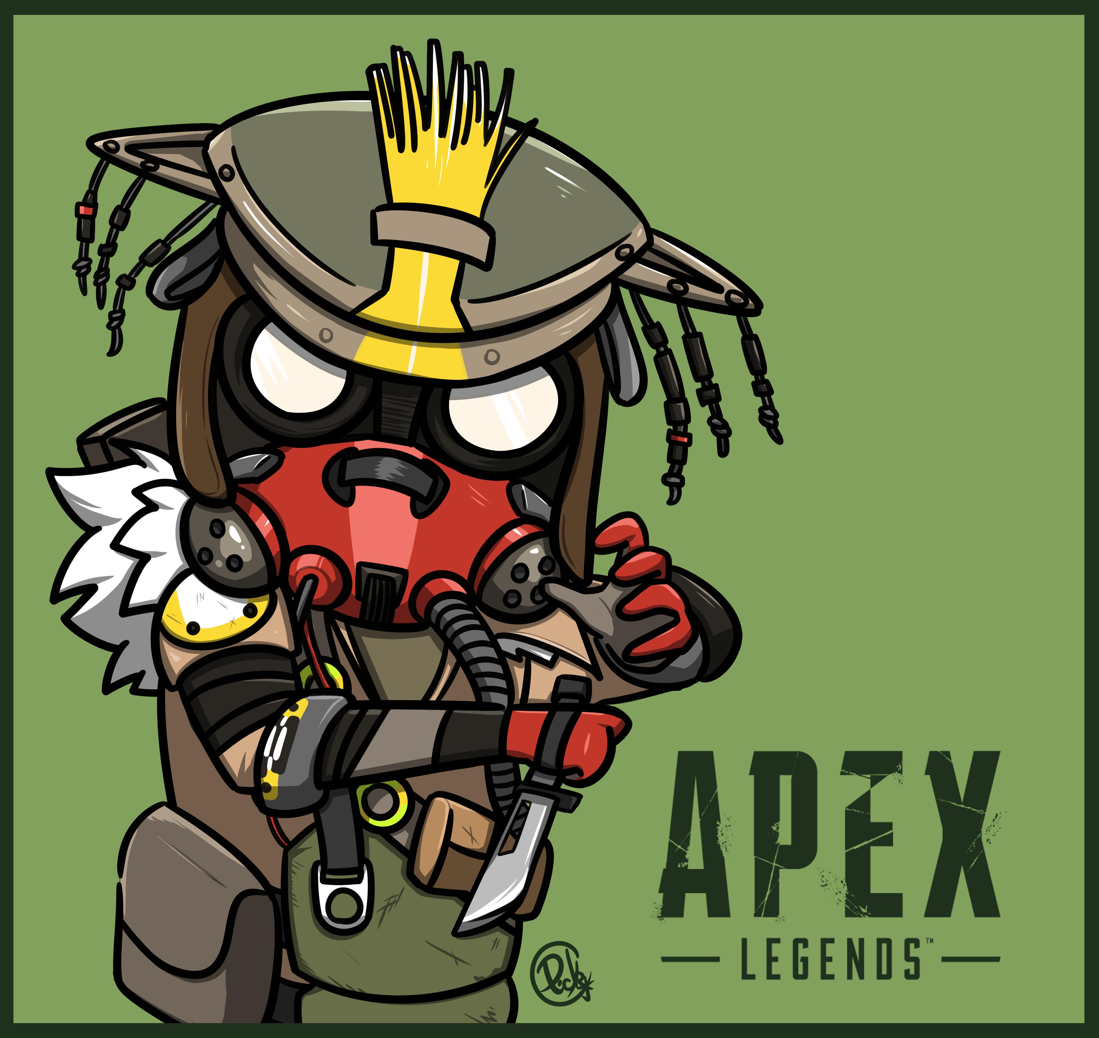 Apex Legends Bloodhound Bloodhound Apex Gamers Anime