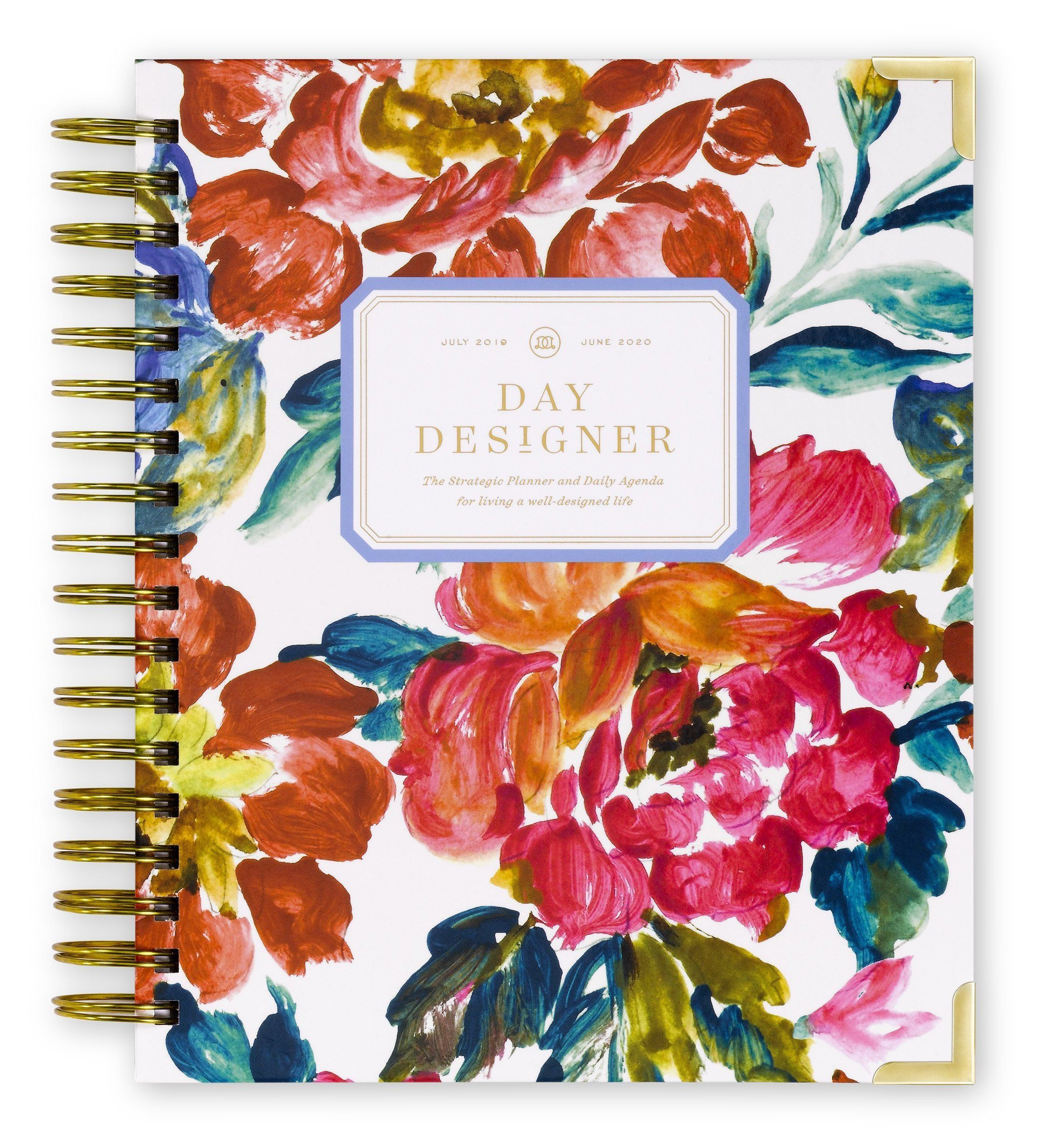 This Bold Expressive Floral Feels Like A Fresh Picked