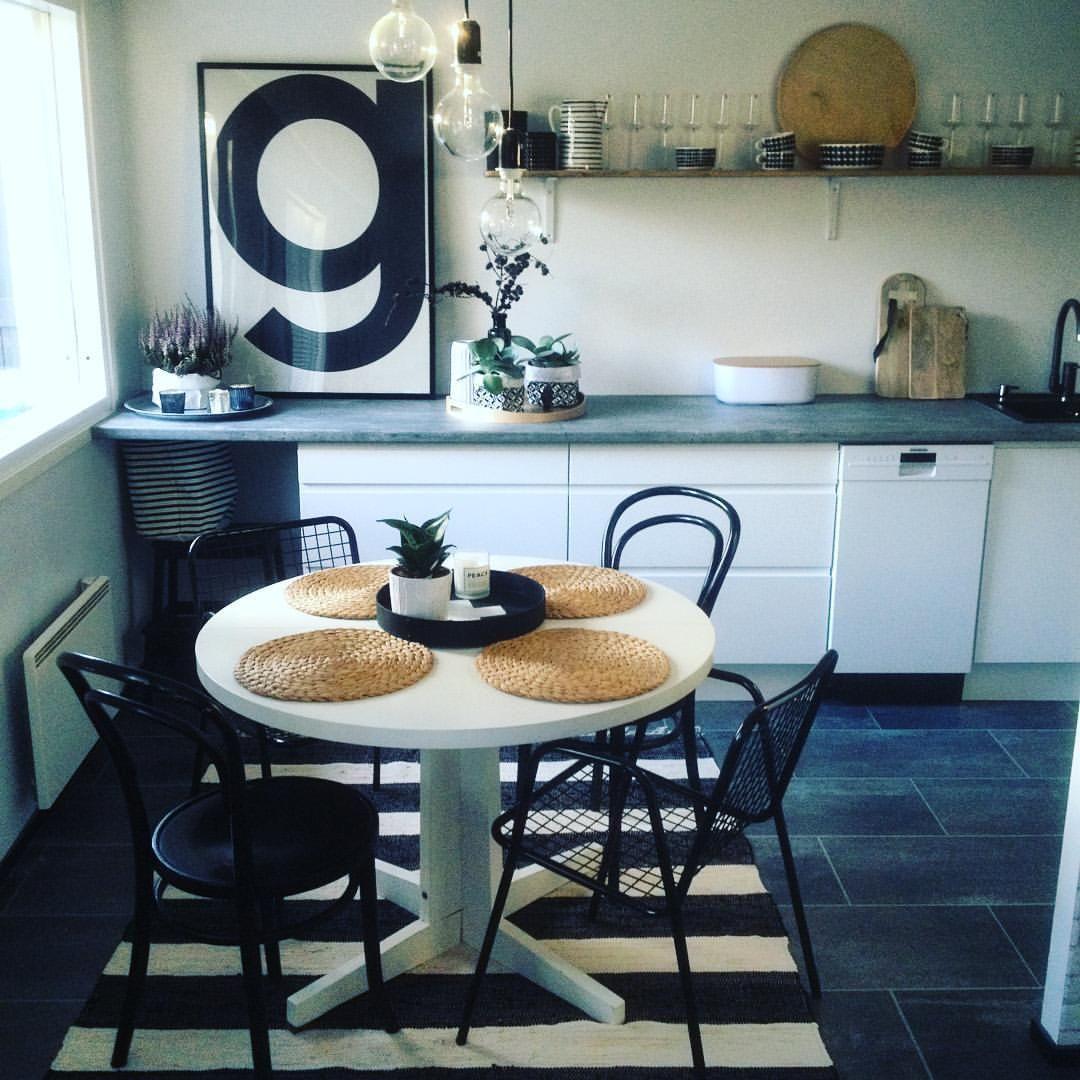 Matto vai ei, kas siinä vasta pulma! #scandinavianhome #myhome #munkoti #keittiö #kitchen #diy #blackandwhite #epoqkitchen #ikeakitchen #marimekko #stelton #iittala #brukadesign #playtype #hkliving #bloomingville #elämänikoti #inspiroivakoti