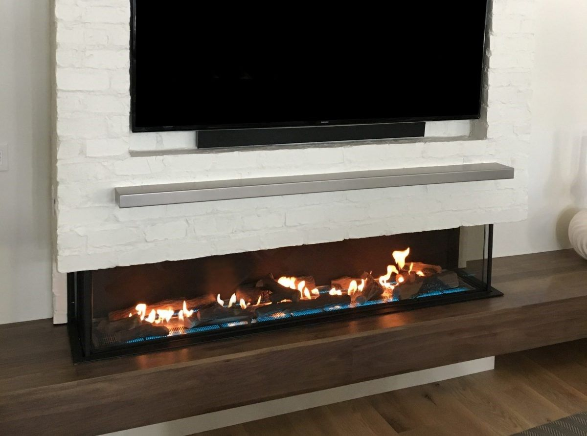 Worried That A Fireplace Will Cause Surrounding Walls To Warm Up