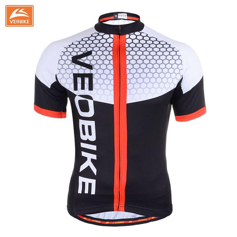 cab777b09 VEOBIKE 2017 Men s Summer Bicycle SportsWear Mens Cycling Short Sleeve Jersey  Cycling Clothing Bike Shirt Size