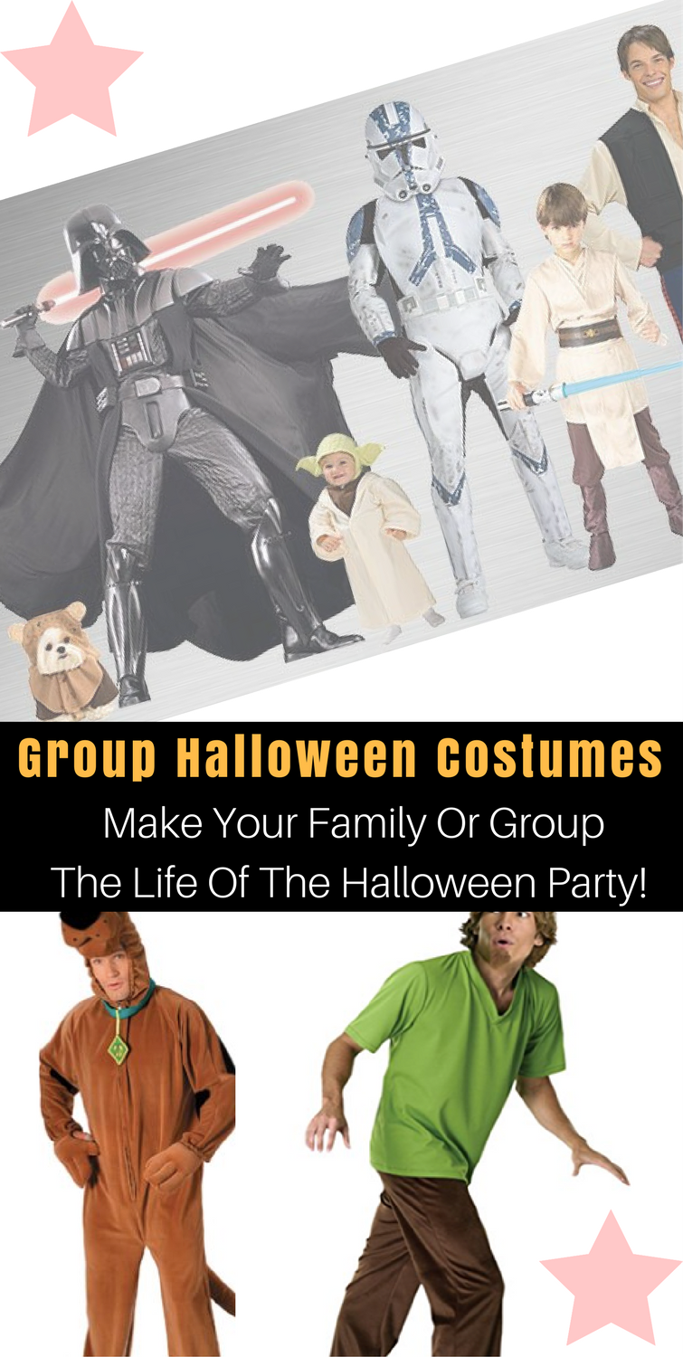 Group halloween costumes that will have everybody at the halloween