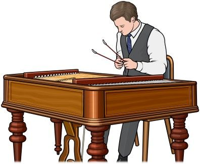 cimbalom player (Hungary)