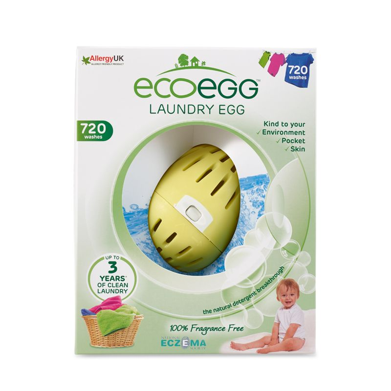 Laundry Egg 720 Washes Fragrance Free Homemade Laundry