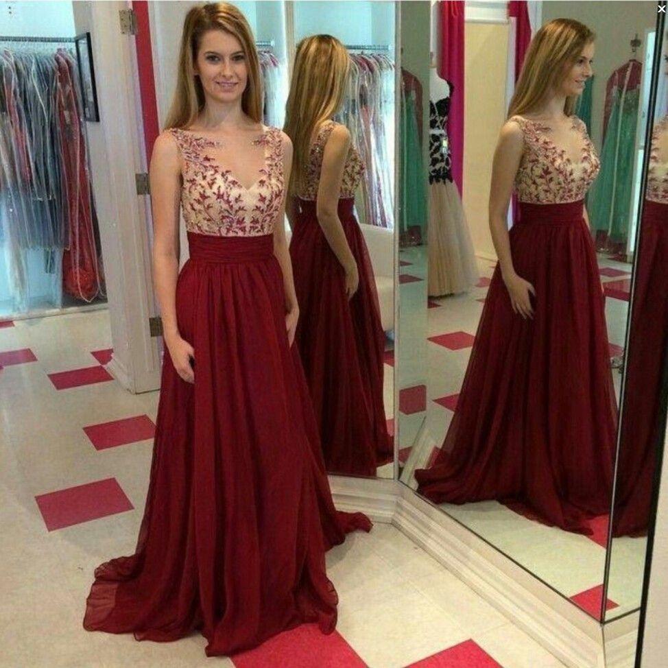 Resultado De Imagen Para Vestidos Vino Y Dorado En 2019