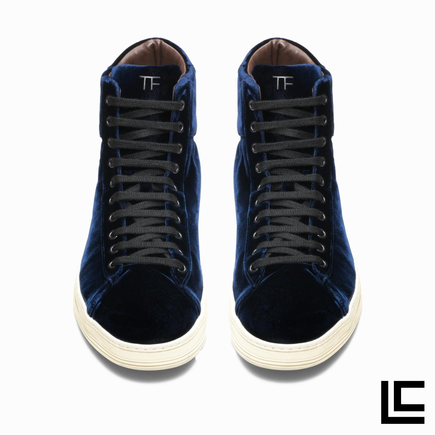 Tom Ford Russel in Blue Suede   High