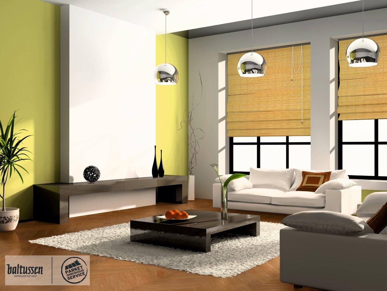 Parketvloer modern interieur een houten vloer voor elk interieur