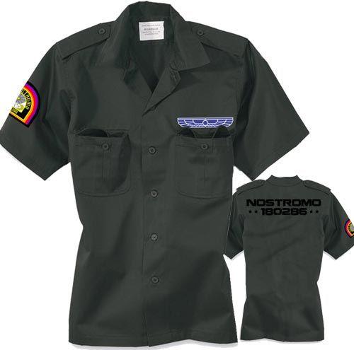 Titan One Europe Nostromo Flight Crew Wings Uniform Crew Alien Cosplay Patch